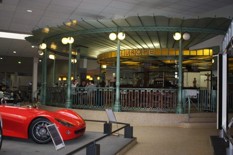 Brasserie de l'Europe au sein du musée
