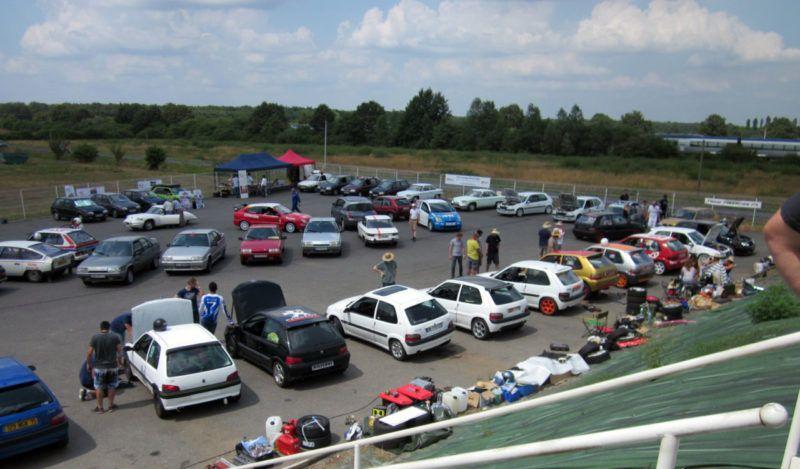 Une petite partie des participants à Citroracing 2016