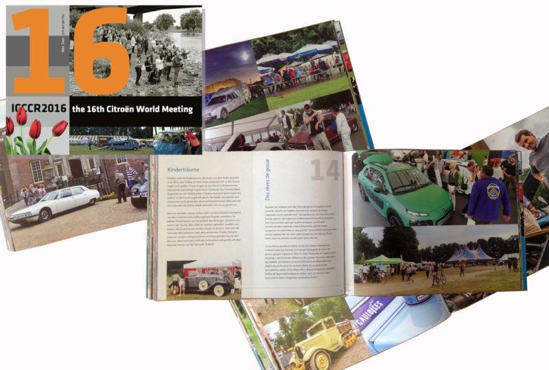 Livre souvenir de l'ICCCR (International Citroën Car Club Rallye) de Middatchen