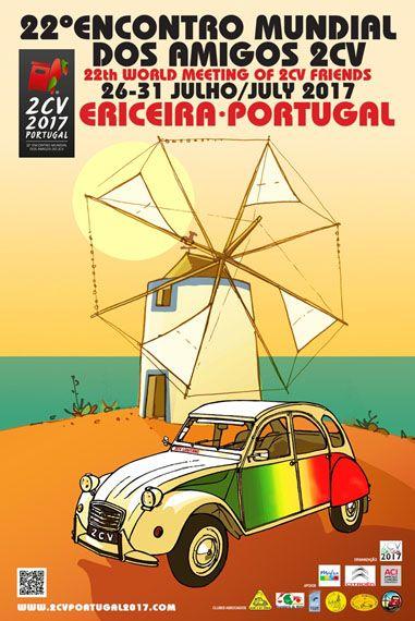 Affiche Internationale 2CV Ericeira