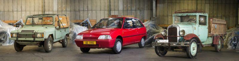 De 1929 à 2014, toutes les Citroën à acheter