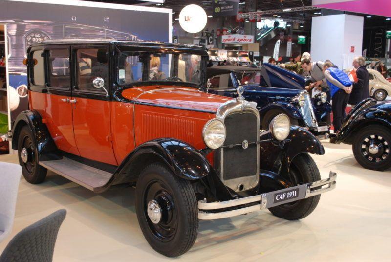 C4F 1931 du club C4 C6 Vintage